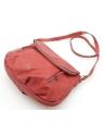 Czerwona torebka listonoszka z klapką LULU CASTAGNETTE