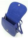 Chabrowa torebka listonoszka z klapką LULU CASTAGNETTE
