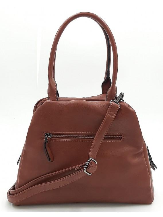 Brązowa torebka damska na ramię Ines Delaure