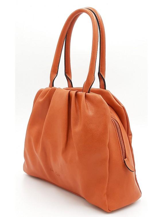 Pomarańczowa torebka damska na ramię Ines Delaure
