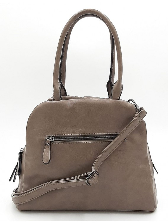 Beżowa torebka damska na ramię Ines Delaure