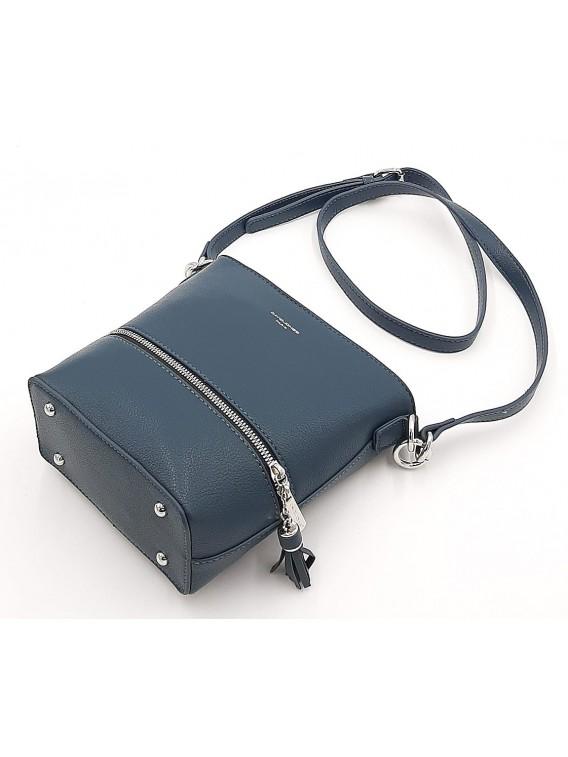 Niebieska torebka damska listonoszka DAVID JONES