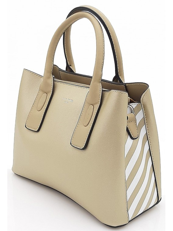 Złoty kuferek damski DAVID JONES