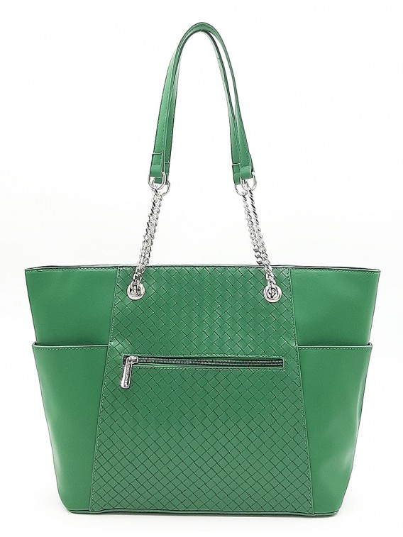 Zielona torebka damska shopper DAVID JONES