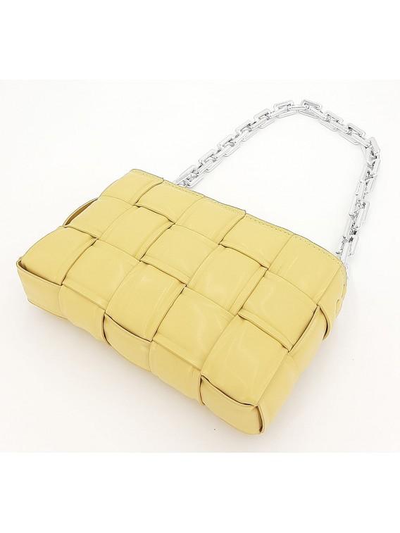 Żółta torebka damska na ramię TOM&EVA