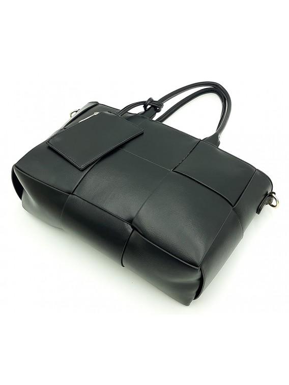 Czarna klasyczna torebka damska Gallantry
